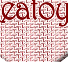 Keatoya Happy Valentines Day Sticker