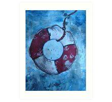Sea Rescue Art Print