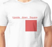 Upside down Square T-Shirt