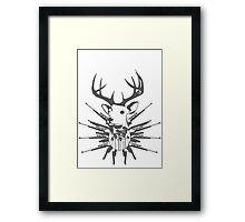Deer hunt Framed Print