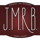 jmrb sticker by mostly10