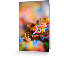 sprinkles! Greeting Card