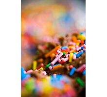 sprinkles! Photographic Print