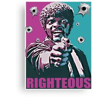 Righteous Canvas Print
