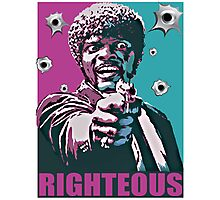 Righteous Photographic Print