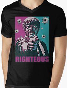 Righteous Mens V-Neck T-Shirt