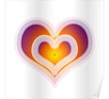 Hearts Design - Colourful Poster