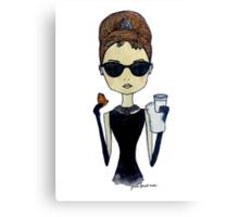 Audrey Hepburn, Breakfast at Tiffany's Canvas Print