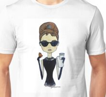 Audrey Hepburn, Breakfast at Tiffany's Unisex T-Shirt