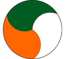 Roundel of the Irish Air Corps Photographic Print