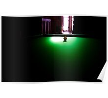 Cue ball Poster