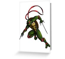 Raph Attack! Greeting Card