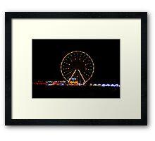 Big wheel fun Framed Print