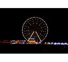 Big wheel fun Photographic Print