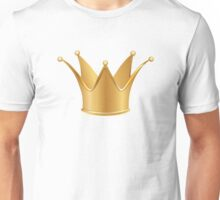 Golden crown Unisex T-Shirt