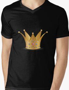 Golden crown 2 Mens V-Neck T-Shirt
