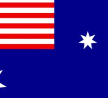 Australian Flag New Sticker