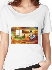 Toon Boy 15 Viking Boy - all products Women's Relaxed Fit T-Shirt