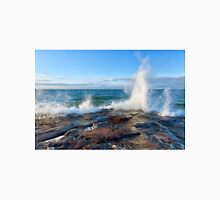 Wave Splash on Lake Superior T-Shirt