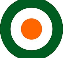 Roundel of the Irish National Army Air Service, 1922-1924 by abbeyz71