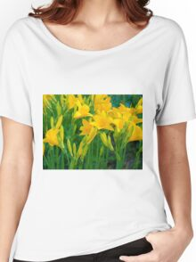 Yellow Lily in the garden Women's Relaxed Fit T-Shirt