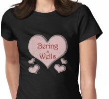 Bering and Wells Happy Valentines Day Womens Fitted T-Shirt