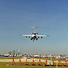 City Airport Landing by Lea Valley Photographic
