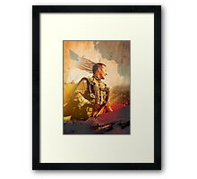 Military War Memorial Framed Print