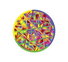 Color Color Photographic Print