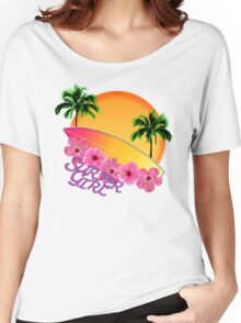 Surfer Girl Women's Relaxed Fit T-Shirt
