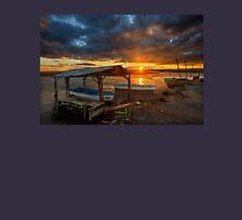 Sunset at the Delta of Aliakmonas Unisex T-Shirt