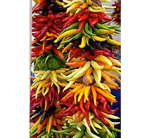 Peppers at the Public Market, Seattle Photographic Print