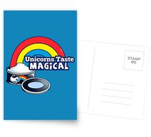Magically Delicious | Funny Unicorn Shirt Postcards