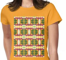 colorful blocks Womens Fitted T-Shirt