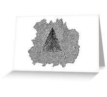 Fir Tree Greeting Card