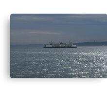 A Washington State Ferry Canvas Print