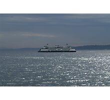 A Washington State Ferry Photographic Print