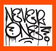 Dripping Graffiti Tag Kids Tee