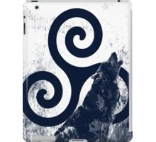 Triskele and Wolf iPad Case/Skin