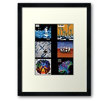 Muse - Albums Framed Print