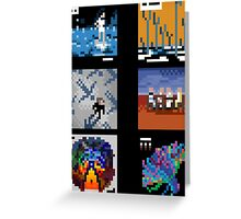 Muse - Albums Greeting Card
