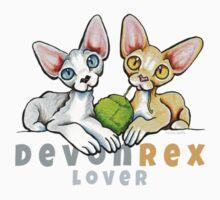 Devon Rex Lover by offleashart