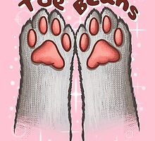 Toe Beans (White Version) by skywaker