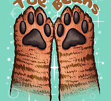 Toe Beans (Tabby Version) by skywaker