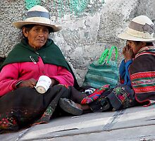 STREET PEOPLE - LA PAZ by Michael Sheridan