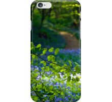 Carpet of blue iPhone Case/Skin