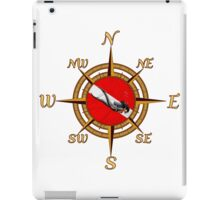 Diver And Dive Compass iPad Case/Skin