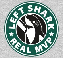 Left Shark Real MVP - Super Bowl Halftime Shark 2015 by T-Shirt T-Shirt Land