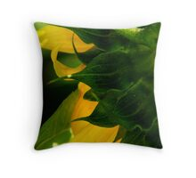 Back to front Throw Pillow