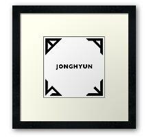 Jonghyun - Base Framed Print